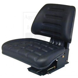Seat w/ Trapezoid Backrest, BLK
