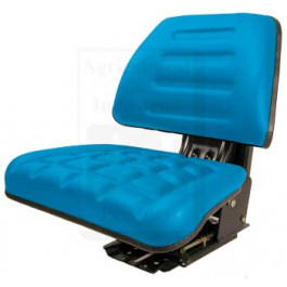 Seat w/ Trapezoid Backrest, BLU