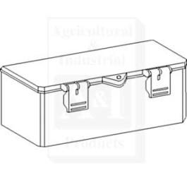 "Tool Box, Plastic; 11.500"" X 4.750"" X 4.250"""