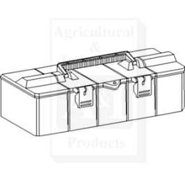 "Tool Box, Plastic; 17.000"" X 6.625"" X 6.000"""