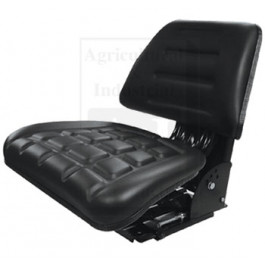 Flip-Up Seat, Trapezoid Back, BLK