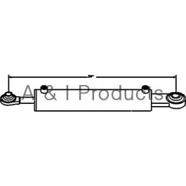 "Hydraulic Top Link Cylinder (Cat II) (3"" Bore)"