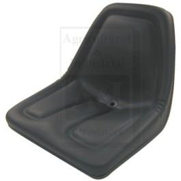 Michigan Style Seat, w/o Slide Track, BLK
