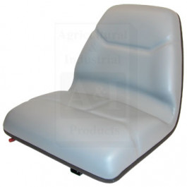Seat, Michigan Style, w/ Slide Track, Deluxe Cushion, GRY