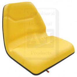 Seat, Michigan Style, w/ Slide Track, Deluxe Cushion, YLW
