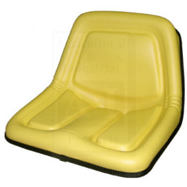 Seat, High Back, Yellow