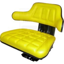 Seat Assembly: Wrap Around Back w/ Arms, YLW