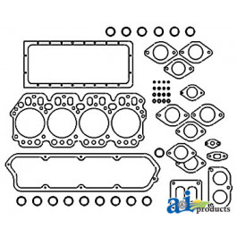Gasket Set, Lower with Rope Seal