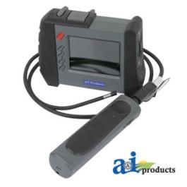 """Video Borescope, 5.5mm Probe Diameter, Wireless 3.5"""" Color TFT Monitor"""