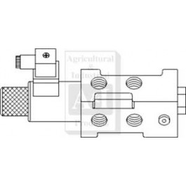 "6 Port Solenoid Diverter Valve 1/2"" BSP"