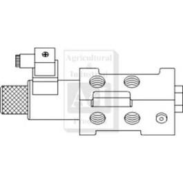 "6 Port Solenoid Diverter Valve 1/2"" BSP"