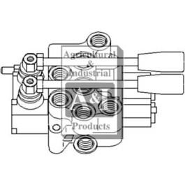 Hydraulic Control Valve BSP, 2 spool
