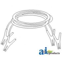Booster Cables, 16""
