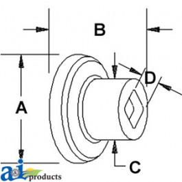 """Spool Spacer 2-3/8"""""""