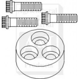 Pulley Kit, Crankshaft