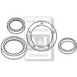 Seal Kit, Crankshaft, Front & Rear