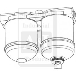 "Filter Assembly, Double CAV Fuel (1/2"" UNF Ports)"