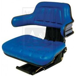 Wrap Around Back w/ Arm Rest, BLU