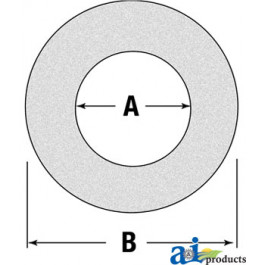 "Friction Disc/Clutch Lining, 6.2"" O.D., 3.93"" I.D."