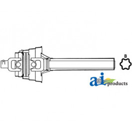Complete Constant Velocity Tractor Half Shafts