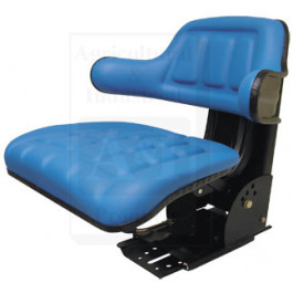 Flip-Up Seat, Wrap Around Back, BLU