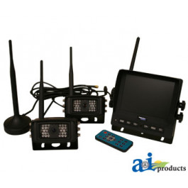"CabCAM  Video System, Wireless (Includes 5.6"" Monitor and 2 Cameras)"