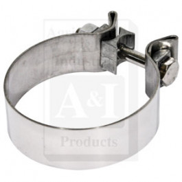 "Clamp, 3 1/2"", Stainless Steel, For 3 1/2"" Chrome Stack"