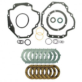 IPTO Gasket Kit & Heavy Duty Clutch Pack - w/o Brakes