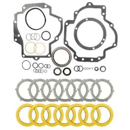 IPTO Gasket Kit & Heavy Duty Clutch Pack - w/o Brakes