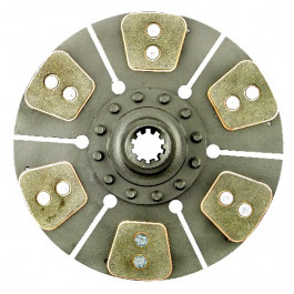 12-1/2' Trans. Disc - Reman, 6 Large Pads w/ 1-1/2' 10 Spline Hub