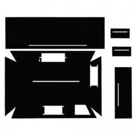 Cab Kit w/ Headliner - Black - C1400
