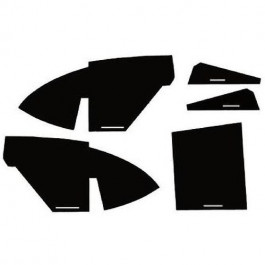 Cab Kit w/ Headliner - Black - C66