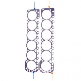 Head & Oil Pan Gasket Set - HC165944AS