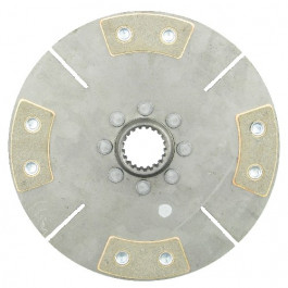 9' Trans. Disc - Reman, 4-Pad w/ 1-7/16' 20 Spline Hub