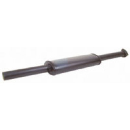 Silencer (3 Hole Flange fitting), Black Finish (non genuine)