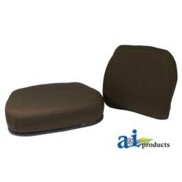 Cushion Set 2 Pc., Mechanical, Steel, ORIGINAL FABRIC - JD7500-SET