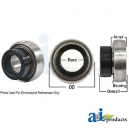Bearing, Ball; Spherical W/ Collar, Non-Relubricatable - JD8552