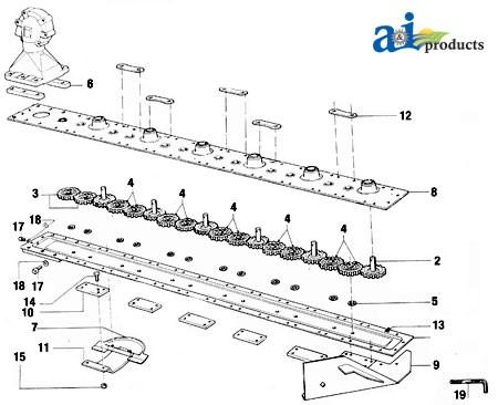 Kuhn gmd 44 Parts Manual
