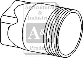 310088F PTO Cap for Ford New Holland Tractor