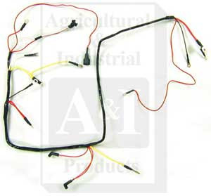 310996 main wiring harness 6 volt for ford new holland up to rh tractorjoe com Trailer Wiring Harness 6 volt motorcycle wiring harness