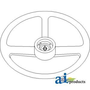 366557r2 Steering Wheel 18 Diameter 7 8 Hub Hole Id W 36 Splines 1 moreover 380126r2 Spacer Countershaft Gears 1 likewise  on 4156 international tractors