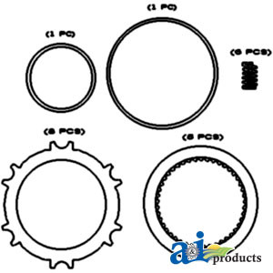 66182C1 - Spring, PTO Clutch for Case / Case IH and International Harvester  Tractor and Industrial/Constructions | Up to 60% off Dealer Prices |