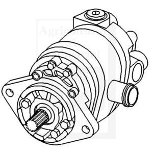 70257005 Pump Hydraulic Dual 1