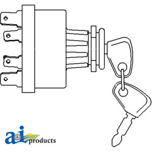 883928M91 - Ignition Switch for Mey Ferguson Tractors   Up to 60% off on