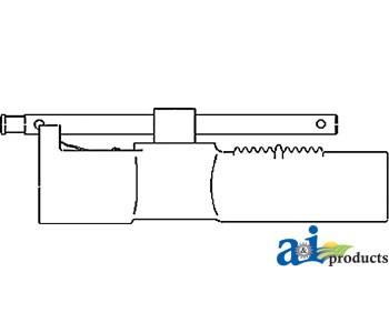 center link body w/ handle - af2873r