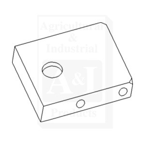R127161 lock plate draft link end for john deere tractors up lock plate draft link end r127161 sciox Choice Image