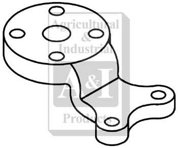 R27808 Steering Arm Center 1