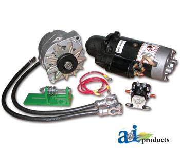 ts v to v starter conversion kit for john deere 24v to 12v starter conversion kit ts 8000