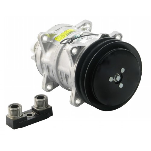 8814621046 - Compressor w/ Clutch - New for Fiat / Hesston and Ford / New  Holland Swather/Windrower and Tractors | Up to 60% off Dealer Prices |