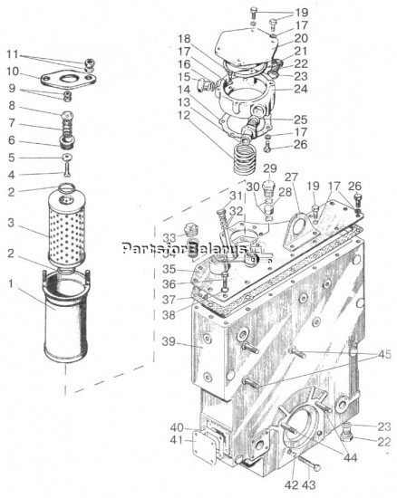 761 000 000 hydraulic filter for belarus 825 tractors. Black Bedroom Furniture Sets. Home Design Ideas